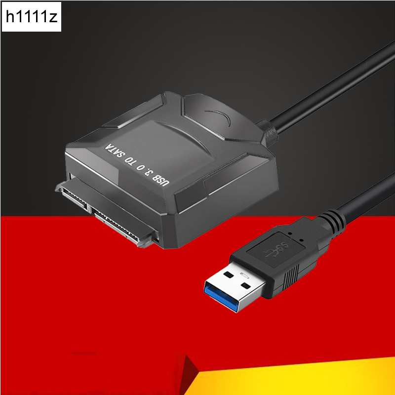 SATA to USB Adapter USB 3.0 Cable to SATA3.0 Converter for Samsung Seagate WD 2.5 3.5 HDD SSD Hard Disk USB SATA Adapter for PC usb 3 0 male to sata female adapter usb 3 0 male to female cable for 2 5 hard disk yellow