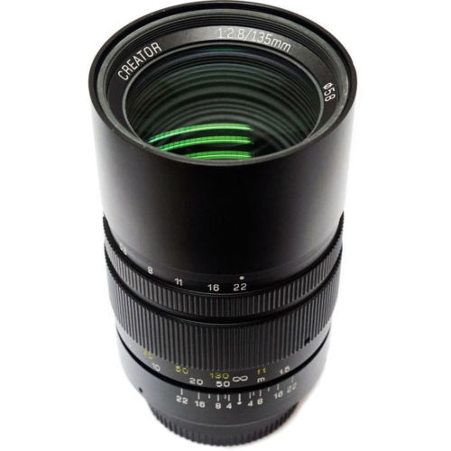Mitakon Zhongyi Creator 135mm F/2.8 Mark II Lens For Canon EOS EF Nikon F Pentax K PK Sony E FE