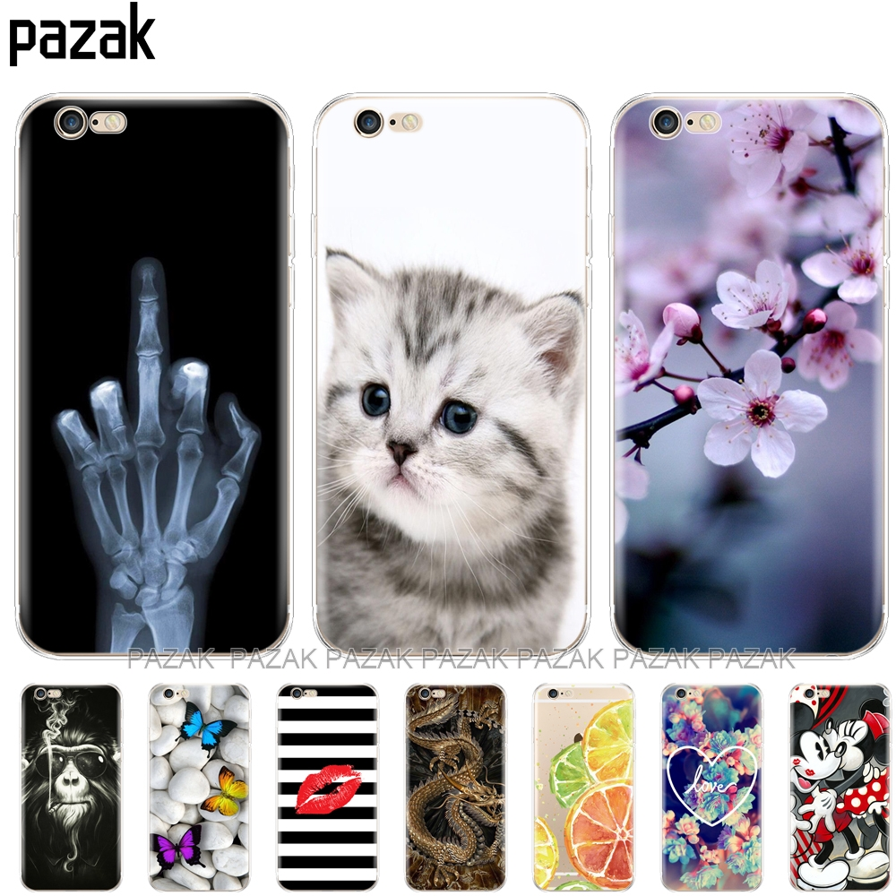 For Fundas iPhone 5S 5 S SE Case Cover
