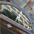 Бесплатная доставка нержавеющая сталь оконную стойку отделка автоаксессуары 8 шт. для Nissan Sentra 2012 пульсар седан Sylphy