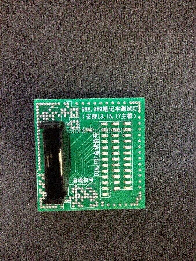 1 Stücke * Brand New Laptop 988 989 Cpu Steckdose Tester Für I3, I5, I7 Laptop Motherboard Mit Led