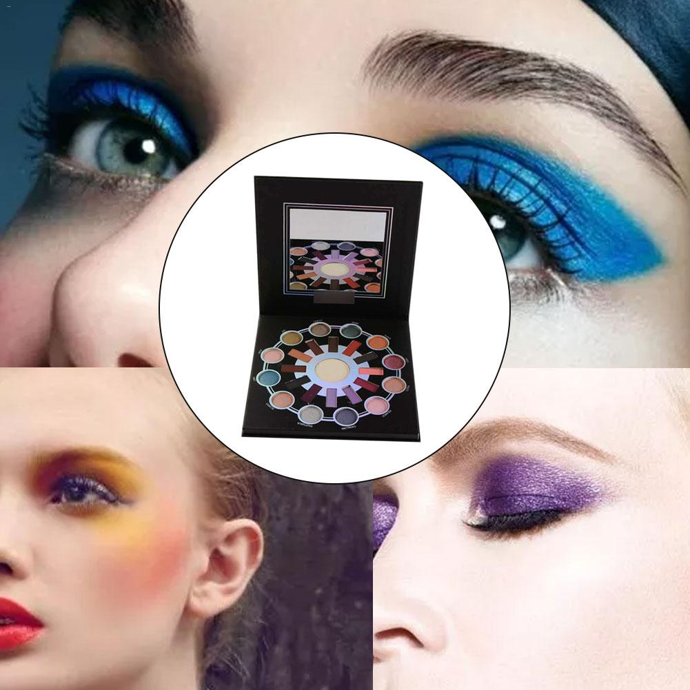 BH25 Color Eyeshadow Palette ZODIAC25 Color Highlighting Shimmer Matte Makeup Eyeshadow Palette in Eye Shadow from Beauty Health