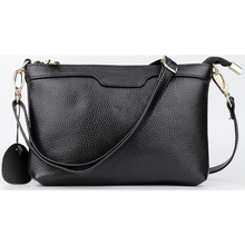 New Arrivals Ladies Cross-body Bags 2018 Brand Designer Women Shoulder Bags High-end Market Genuine Leather Female Messenger Bag