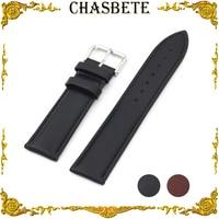 14mm 16mm 18mm 20mm 22mm 24mm Leder Uhrenarmband für Fossil armband Männer Frauen Bügel armbanduhr Schleife Gürtel Armband Braun + Pin-in Uhrenbänder aus Uhren bei