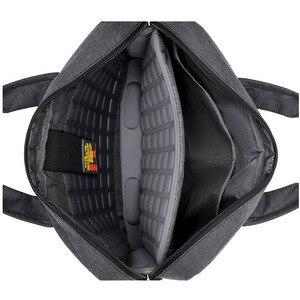 """Image 3 - Wodoodporna, odporna na wstrząsy powietrza torba na laptopa 17.3 15.6 15 14 13.3 13 """"luksus gruby przenośne torba na ramię kobiety mężczyźni Notebook torba"""