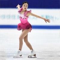 RUBU Customization Ice Skating Dress Competition Ice Skating Dress For Sale New Brand Figure Skating Competition Dress