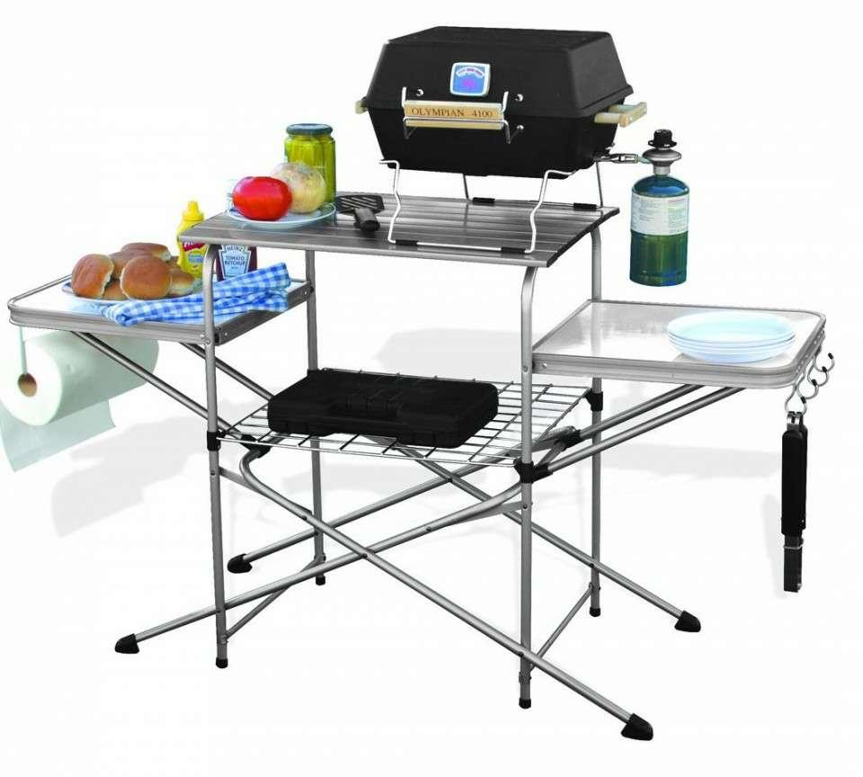 Portable Grill Tables Table Design Ideas