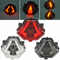 High Quality LED Tail Light Turn Signal Integrated for Yamaha MT 07 R25 R3 2013 2016 Led Taillight Blinker Lamp Smoke Color