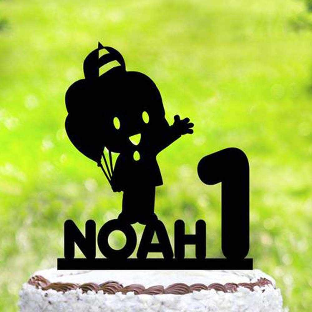 Pocoyo personalizado Inspirado Bolo Topper, decoração festa de Aniversário Pocoyo, Pocoyo aniversário Bolo Topper, Topper do Bolo da festa de aniversário