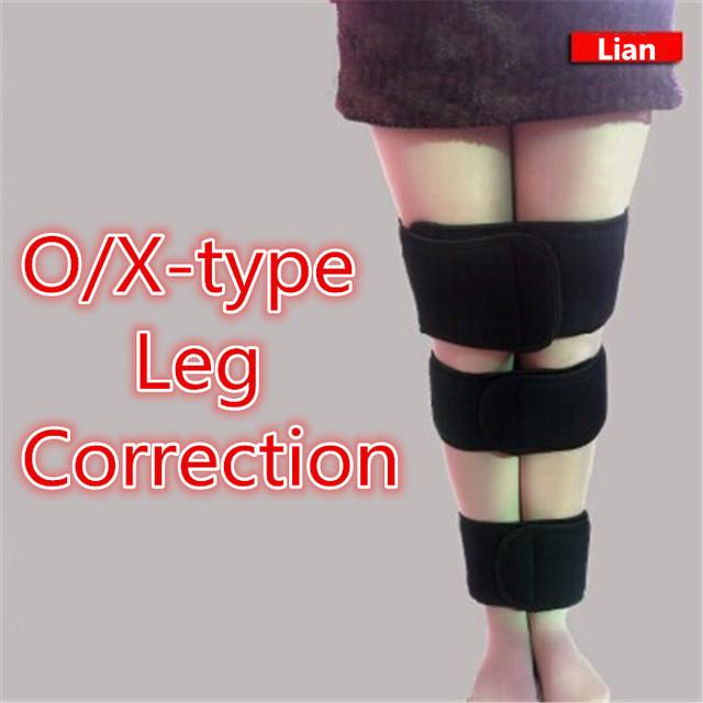 Ajustable O/x-type Corrección Pierna 3 Unids/set O/X Pierna Piernas Ortopédicas Soporte Corrector Puede Utilizar día y Noche Tamaño Libre T051