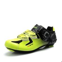 Мужская обувь для велоспорта, дышащая обувь для велоспорта, новая Брендовая обувь для шоссейного велосипеда, регулируемая велосипедная обувь