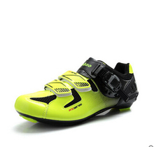 Cycling Shoes For Men road bicycle cycling shoes breathable bike new Brand road bicycle adjustable cycling shoes
