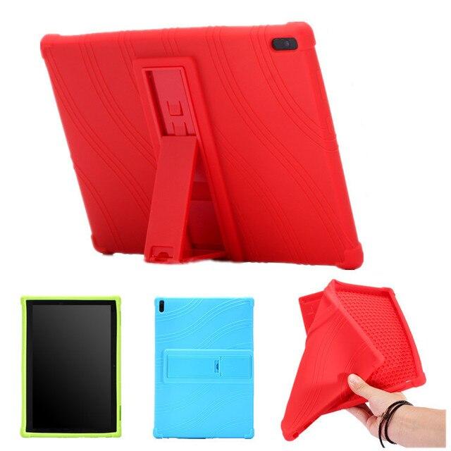 Kids Silicone stand Case For lenovo TAB4 Tab 4 10 TB-X304L TB-X304 Cover Case For Lenovo Tab 4 10 Plus TB-X704L TB-X704F/N Funda