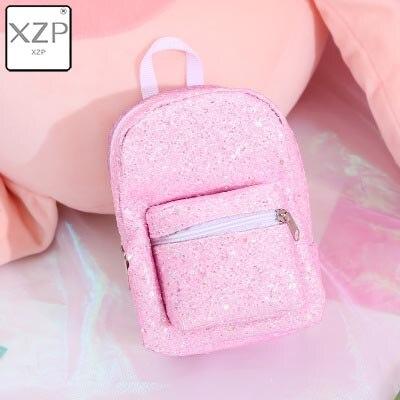 XZP мини кошелек на запястье для монет, рюкзак для женщин, блестящий маленький рюкзак с блестками, кошелек, дизайнерский рюкзак для девочек, милый Рюкзак Kawaii - Цвет: Style 4