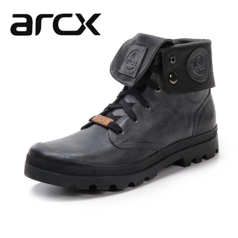 Arcx miękkie skórzane motocyklowe buty motocyklowe buty jeździeckie buty nosić na co dzień jazdy na rowerze na świeżym powietrzu buty buty ze skóry wołowej