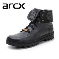 Arcx soft leather motorcycle boots motorcycle riding boots shoes wear casual outdoor cycling shoes cowhide boots