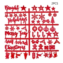 Рождественская войлочная вывеска пластиковые буквы для войлочной табличка с надписью для вывески