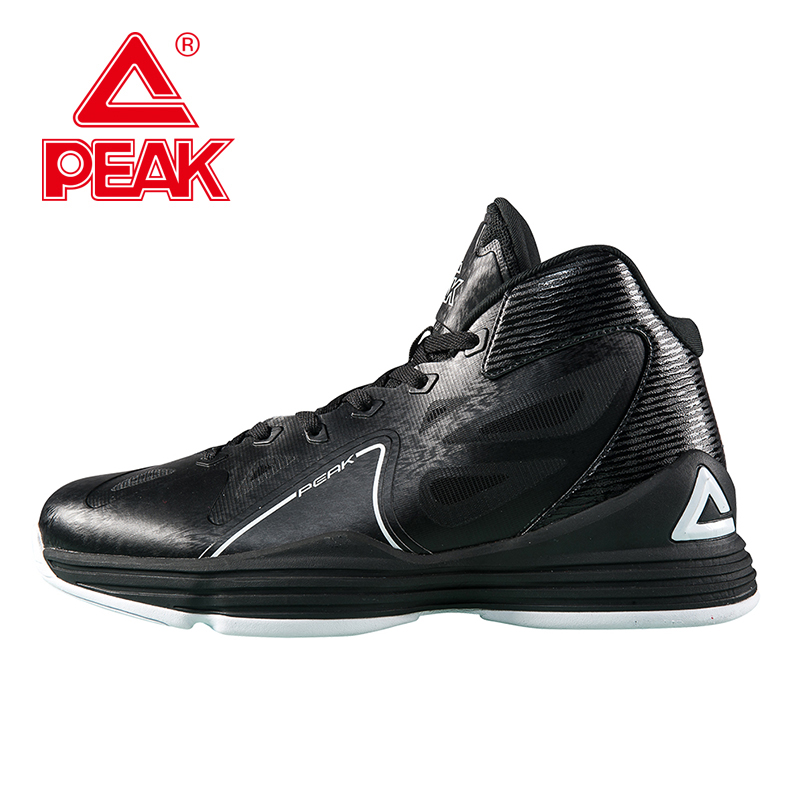 PEAK SPORT Galaxy Men Basketball Shoes FOOTHOLD Gradient Dual Tech Athletic Sneakers Breathable Training Sports Boots EUR 40-47 peak sport authent men basketball shoes wear resistant non slip athletic sneakers medium cut breathable outdoor ankle boots