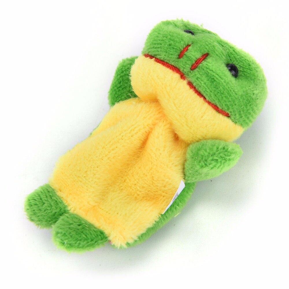 10-PcsLot-Cute-Hand-Toy-Cartoon-Animal-Finger-Puppet-Biological-Animal-Finger-Puppet-Plush-Toys-For-Childrens-Favor-Dolls-4