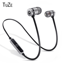 TuZe HK-B1 Neckband Bluetooth Earphone Wi-fi headphone For Xiaomi iPhone earbuds stereo auriculares fone de ouvido with MIC