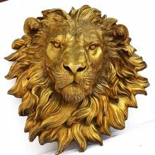 Copper bronze decoration Feng Shui pendant copper lion head Home Furnishing town house animal