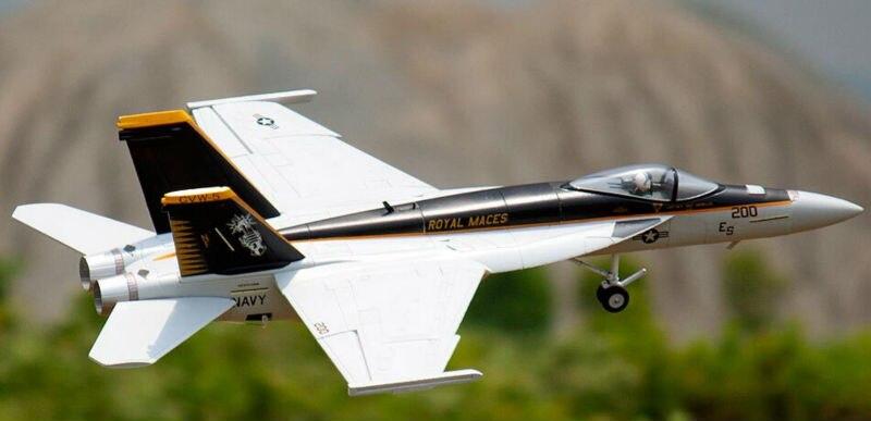 Freewing EPO RC самолет F18 64 мм Jet PNP