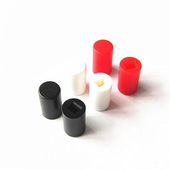 Mały przełącznik przycisk Cap A04 może się równać z 8 5*8 5 8*8 7*7 przycisk przełącznika 7 kolorów do wyboru (10 sztuk partia) tanie i dobre opinie plastic