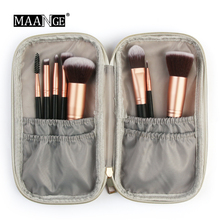 Dropship Professional Portable Cosmetic Makeup Brush font b Bag b font Fashion Marble font b Case