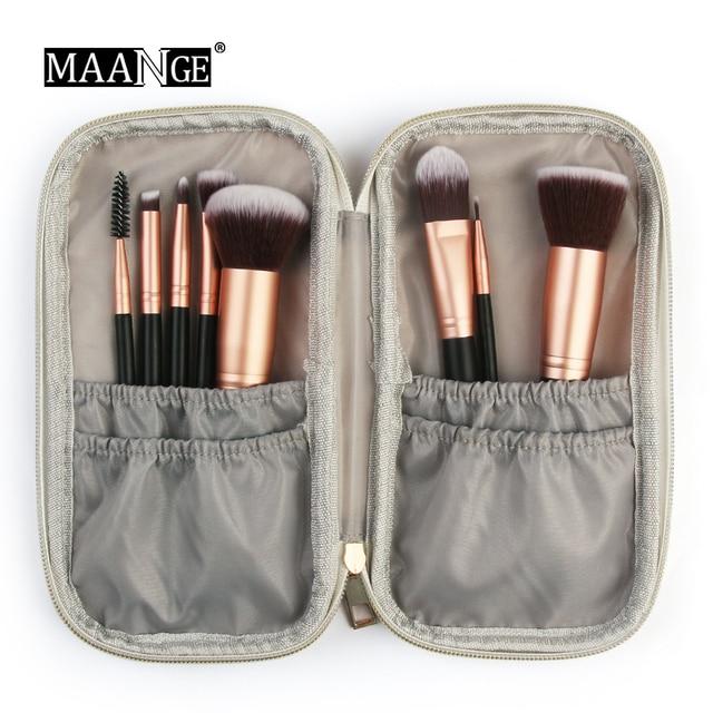 Dropship bolsa de brocha de maquillaje portátil profesional para cosméticos, estuche de mármol de moda, bolsa de brocha para maquillaje, bolsa de almacenamiento