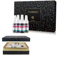 цены 4pcs FAMISOO Professional Microblading Pigment Permanent Makeup Tattoo Ink for Eyebrow/Lip eyeliner Micro Pigment Color