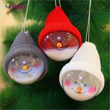 3 шт, рождественские детские игрушки висит дерево шар украшения Xmas садовый декор Новогоднее украшение Ornements de noel Q3