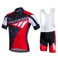FASTCUTE Bicycle Wear Maillot Cycling Clothing Ropa Ciclismo MTB Bike Uniform Cycle Shirt Racing Cycling Jerseys