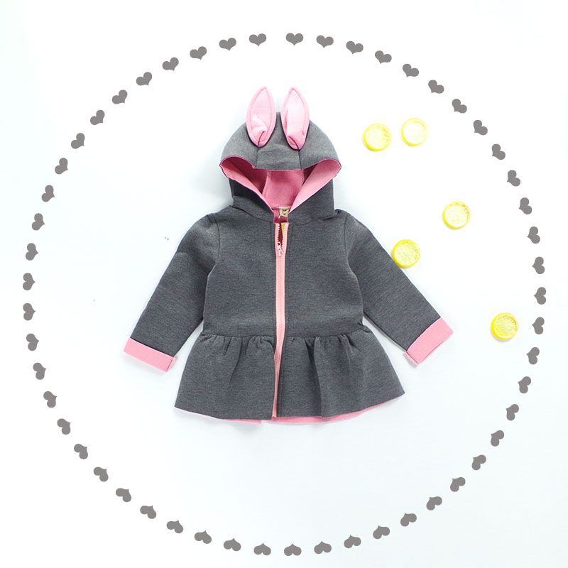 8ad5d9342bec New Baby Jas Fashion Hooded Girls Coat 0 2 age Cappotto Bimbo Baby ...