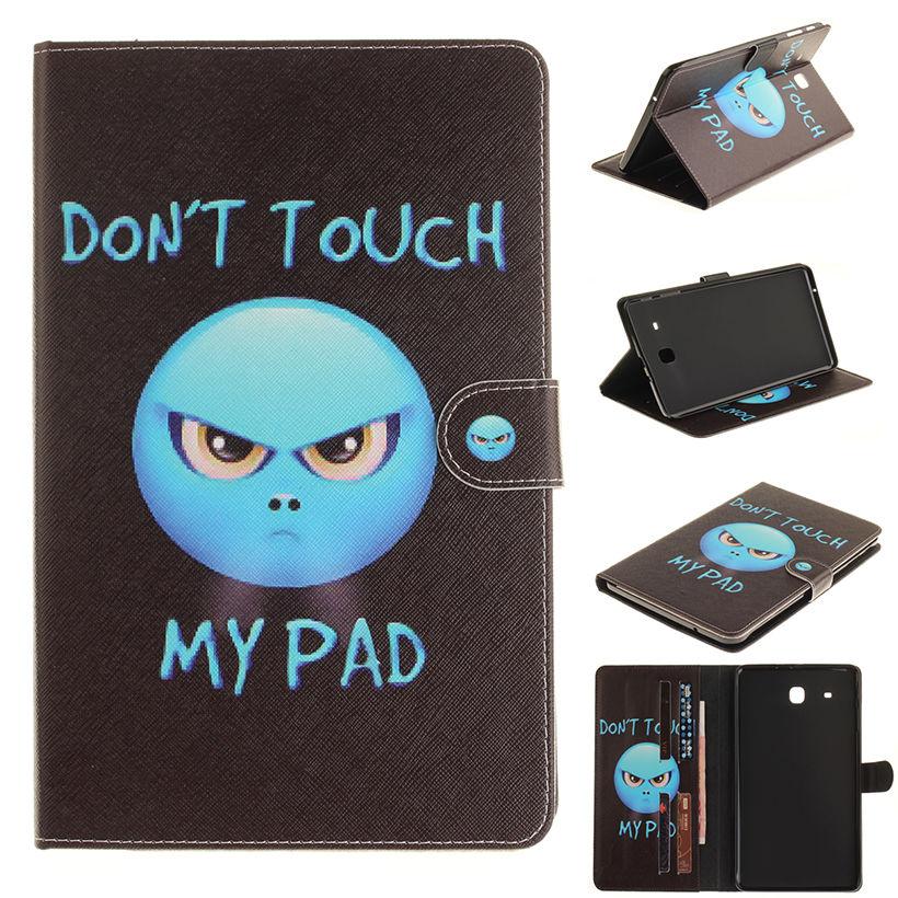 Moe värvitud flip PU nahast sFor Samsung Galaxy Tab E 9.6 - Tahvelarvutite tarvikud - Foto 6