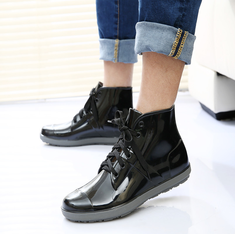 Aliexpress.com : Buy Spring/ Summer Rain Boots Man Korean New ...