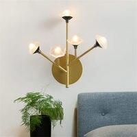 Nordic Baum shrew led wand lampe für loft treppen innen beleuchtung wand decor metall vlla hotel schlafzimmer nacht eitelkeit licht leuchte-in LED-Innenwandleuchten aus Licht & Beleuchtung bei