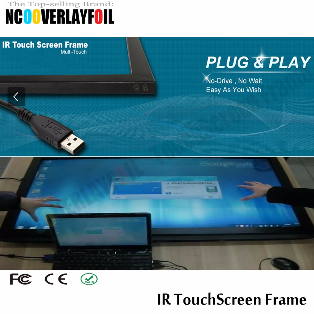 22 2 Points  IR Touchscreen Frame Anti-glare Interference High-resolution Sensitive Respond  Precision And Reliability