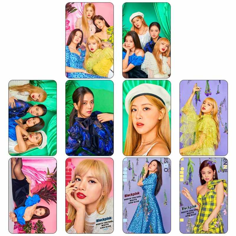 10Pcs Kpop Blackpink Square Up Photocard Poster New Album Concept Photo Version For Student Card Bus.jpg q50