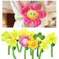 10 pcs DIY Sun flores brinquedos de pelúcia cortina do quarto do bebê clipes Buckle plantas decorativas Wedding Mix cor presente do amante para meninas