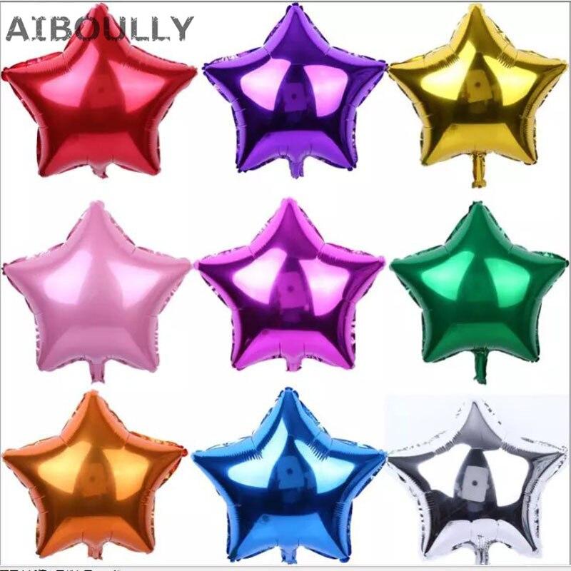 Aliexpress.com : Buy 50pcs/lot 5inch Mini Foil Star ...