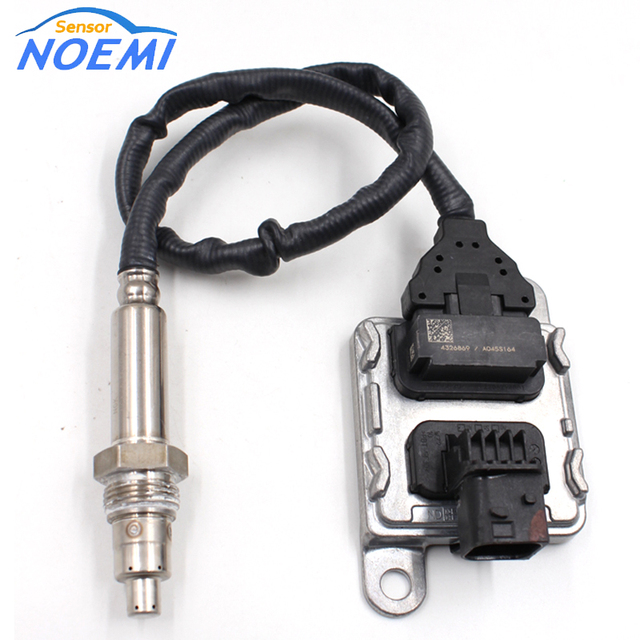 Free Shipping and Fast Delivery For Cummins Nitrogen Oxide Nox Sensor Kit 4326869 SNS153B 5WK96753B 12V Gen2.8