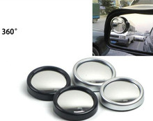 5Pair 10 Pcs Car-styling Hot Sale Driver Side Wide Angle Round Convex Car Vehicle Mirror Blind Spot Auto Rear View Free Shipping