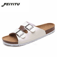 Lovers Casual Sandals Fashion cork slippers Summer Woman beach slippers flip slip-resistant trend of Sandals Female plus size 46 big bowtie woman beach flip flops summer sandals slip resistant slippers platform sandals size 34 40
