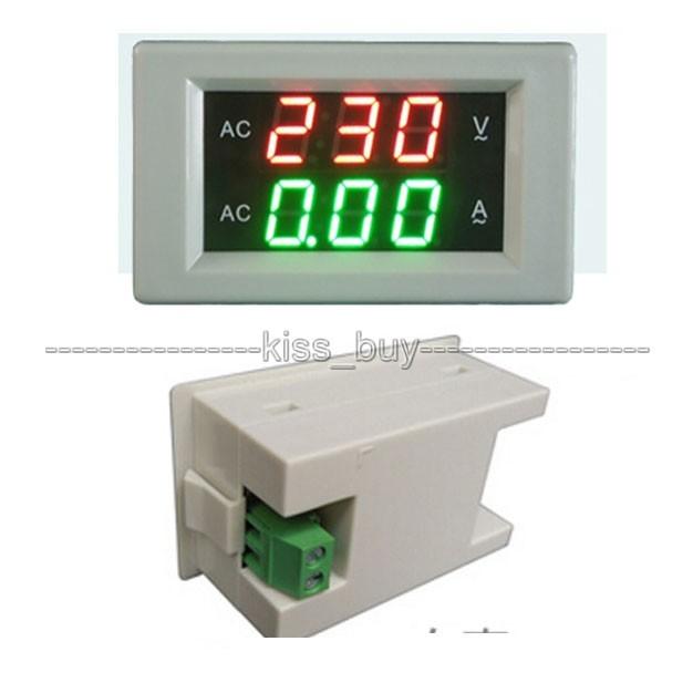 AC 60-300 V 200A LED voltímetro amperímetro digital AC dual display Volt Amp tester Medidor de 110 V 220 V Tensão MEDIDOR de corrente