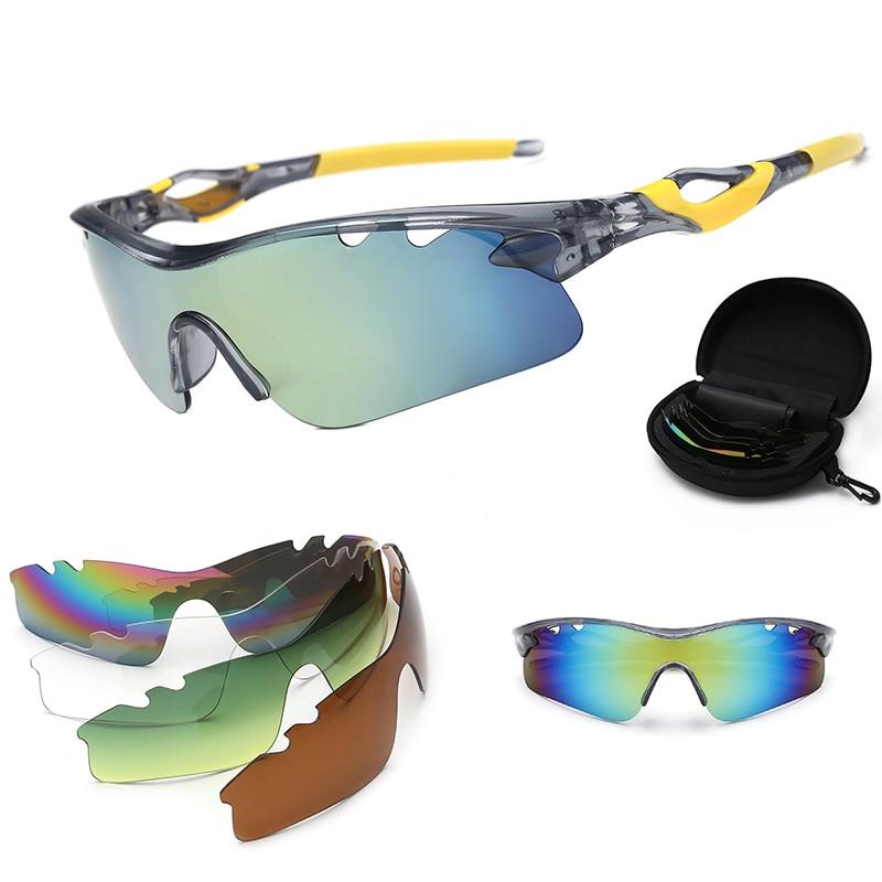 3ae549166f Gafas para Ciclismo MTB con lentes polarizadas para Deportes Al Aire Libre  Lunette sport