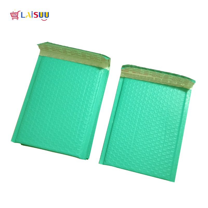 10pcs/6x9-Inch/175*230mm Poly Bubble Mailer Teal Green Self Seal Padded Envelopes/mailing Bags/shipping Bags