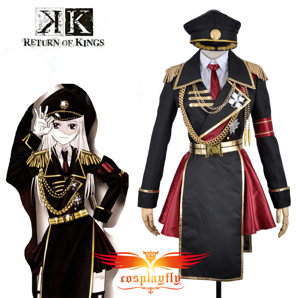K Anime Return Of Kings Anna Kushina Military Uniform Outfit Cosplay Costume Custom   Adult Men Outfit Clothing W0841