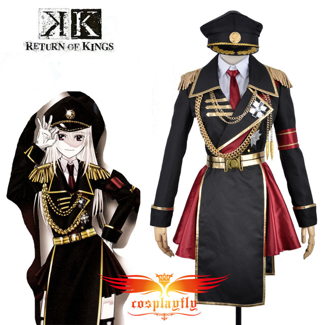 K Anime Return Of Kings Anna Kushina Military Uniform Outfit Cosplay Costume Custom Adult Men