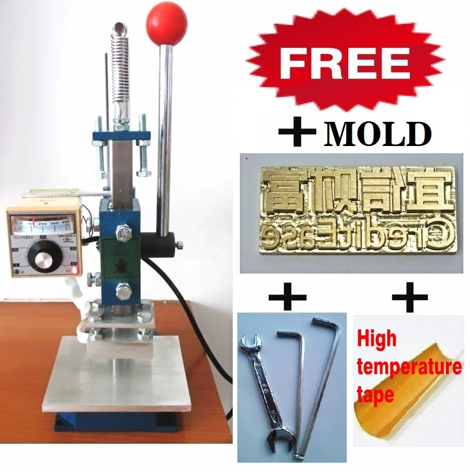 gold foil embossing machine