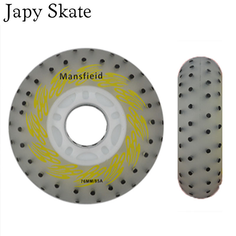 Japy Skate Firestone Led Lighting Skating Wheels 85A Flash Roller Wheels Sliding Skate Wheels 8PCS SET